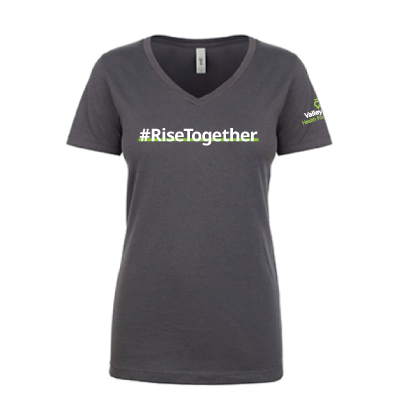#RiseTogether V-Neck T-Shirt