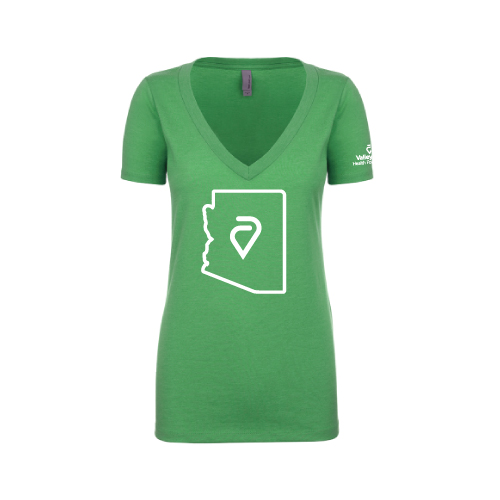 Heart Of The Valley T-Shirt – V-Neck